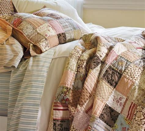 Potterybarn Quilts by Pottery Barn Nadine Patchwork Quilt Abode