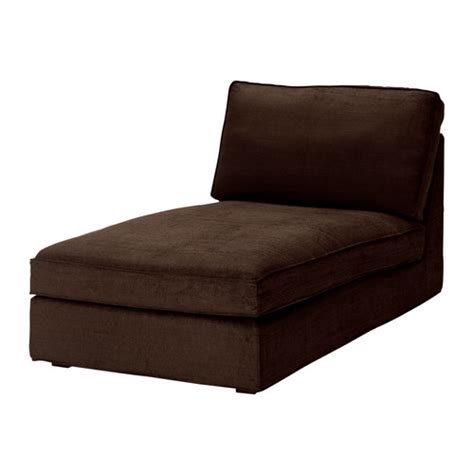 kivik chaise longue tullinge brown ikea