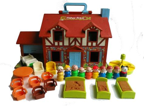 little people house in box fisher price little people 952 tudor house toys mom and fisher