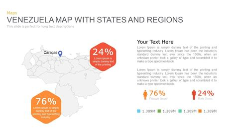 venezuelan id template map powerpoint and keynote template slidebazaar