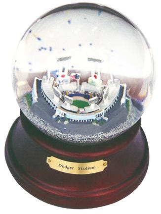 snow globe with fan dodgers snow globe los angeles dodgers snow globe