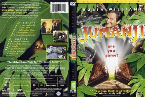 download film jumanji gratis jumanji 1995 de r1 movie dvd cd label dvd cover