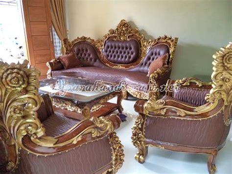 Sofa Ruang Tamu Malaysia kursi sofa ruang tamu jati royal calista