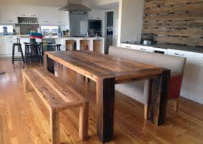 Timber Kitchen Table 34 Incredbile Reclaimed Wood Dining Tables