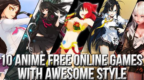 anime action online games 10 anime free online games with awesome trailers and style