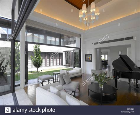 piano in living room grand piano in living room of residence singapore