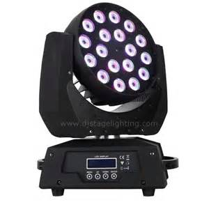 Sound Activated Led Lights 18pcsx 10w Quad Colour Rgbw 4in1 Led Moving Head Light