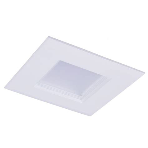 square recessed lighting retrofit globe electric 4 in white led ic swivel spotlight