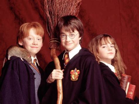 Galerry harry potter ron weasley and hermione granger
