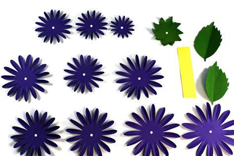 - how to make a paper dahlia