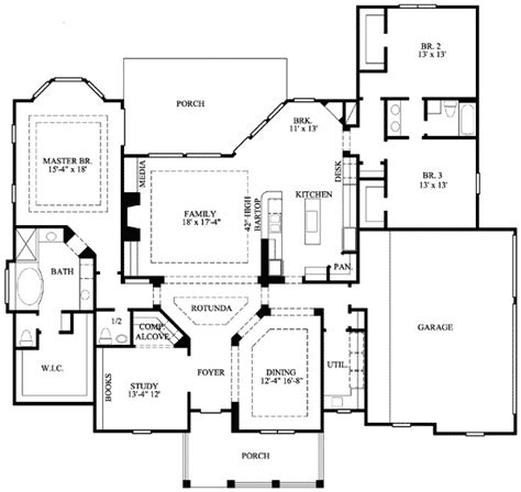 house plan pdf genteel house plan with central rotunda 67003gl 1st