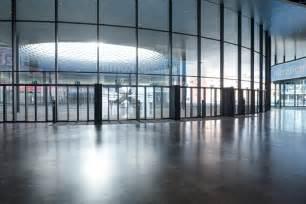 foyer basel herzog de meuron messe basel exhibition