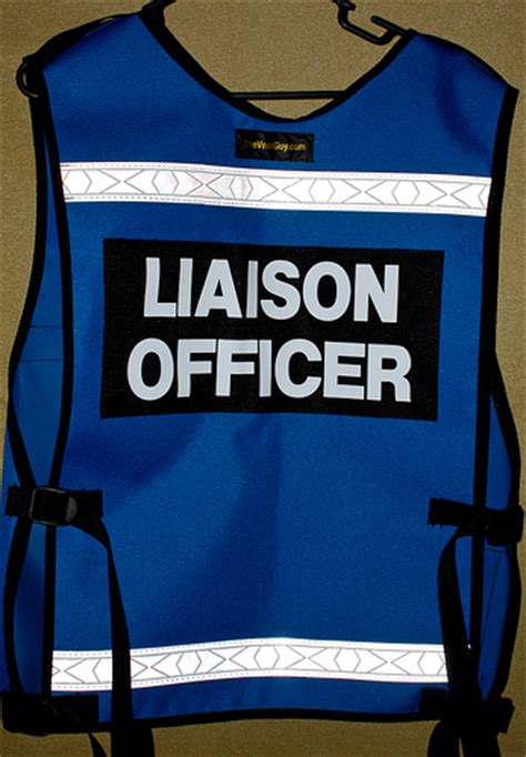 Liaison Officer liaison officer vest 3705 a photo on flickriver
