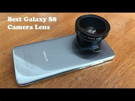 best camera lens kit for samsung galaxy s8 / s8 plus
