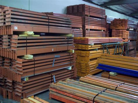 Used Pallet Racks by All American Rack Company Warehouse Pallet Rack Shelving