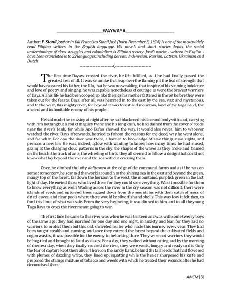 Philippine Literature In Essay by Philippine Literature In Quiz
