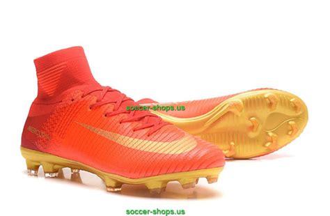 Soccer Nike Mercurial Superfly V Cr7 Fg Gold Terbaru nike mercurial superfly v cr7 fg high top soccer cleats gold green web buy soccer cleats