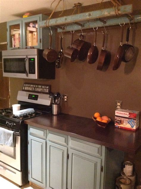 Kitchen Ladder Pot Rack Pin By Sillen On For The Home