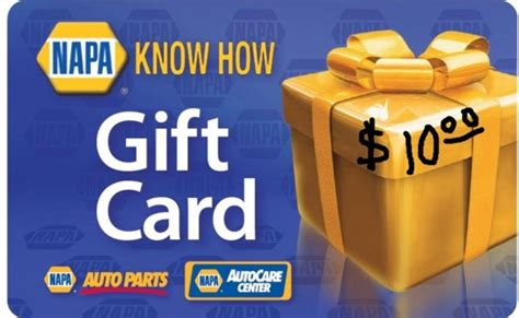 10 Dollar Gift Cards - free napa 10 gift card ten dollar gift certificate other car items listia com