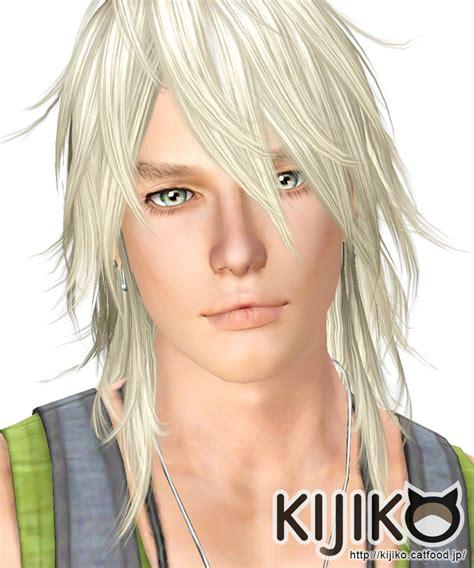 the sims 3 male long hair shaggy hair longhair version for male kijiko