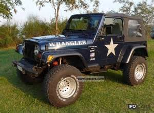 2001 jeep wrangler tj 4000 car photo and specs