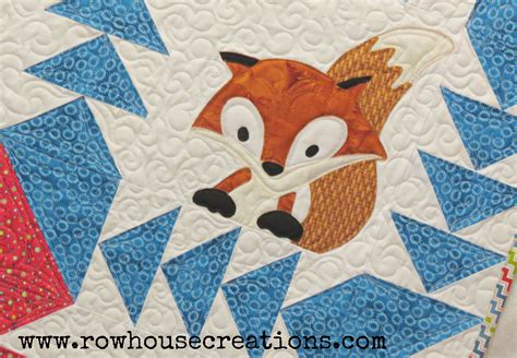 Quilted Fox by Quilt Row House Creations