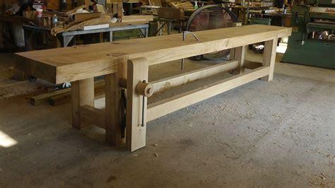 french oak roubo bench tools storage pinterest