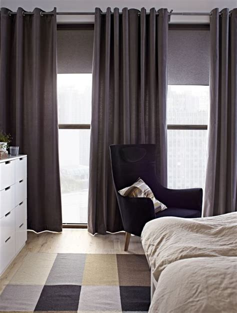 ikea long curtains 43 best images about blackout window treatments on