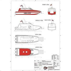 Ambulance Boat 10 M sell ambulance boat from indonesia by cv maju bangkit