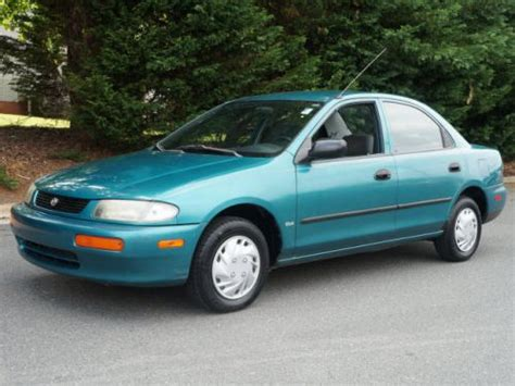 sell used 1996 mazda protege in 1709 e dixie dr asheboro north carolina united states for us