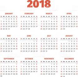 Calendar 2018 Cu Saptamani Simple 2018 Year Calendar Stock Vector 614045352 Istock