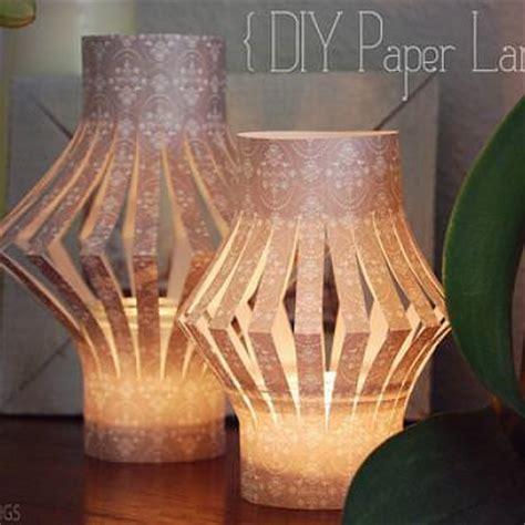 Paper Craft Lantern - diy paper lanterns simple paper craft tip junkie