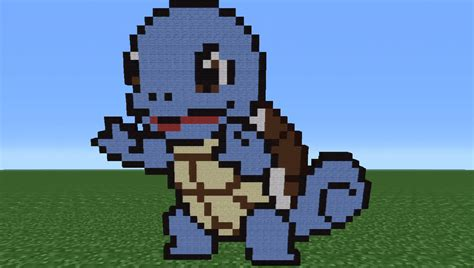 minecraft build tutorial how to minecraft tutorial how to make squirtle