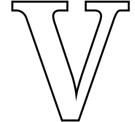 V Letter Images
