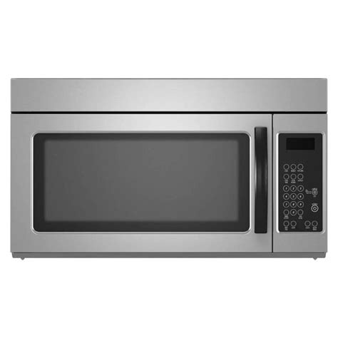 microwave store shop 1 6 cu ft over the range microwave monochromatic stainless steel common 30 in actual