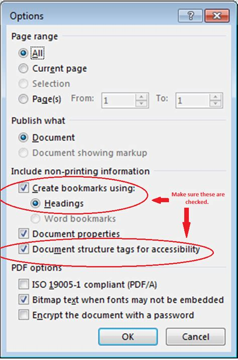 tutorial microsoft excel 2013 pdf accessibility at penn state accessible pdf from windows