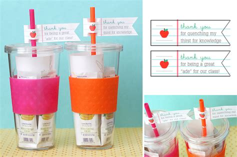crafts for teachers gift a refreshing gift for teachers at home with vallee