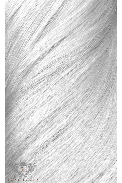 "Silver Fox - Superior 22"" Seamless Clip In Human Hair"