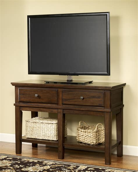 console table tv stand sofa console table tv stand by signature design by