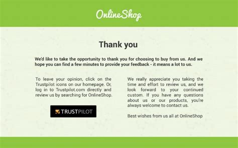 thank you for your reviews 5 ways to get more online customer reviews trustpilot blog