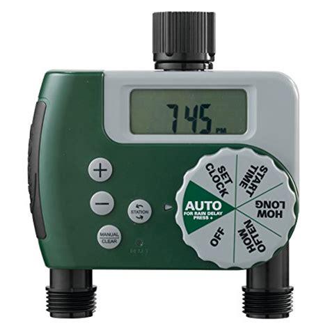 Orbit Faucet Timer by Orbit 58910 2 Outlet Programmable Hose Faucet Timer