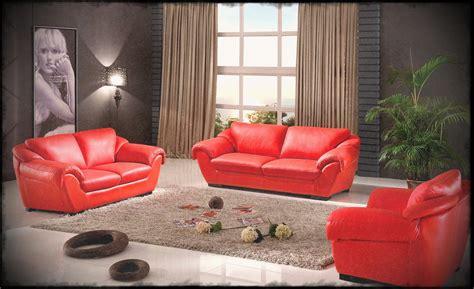 Elegant Leather Sofa For Contemporary Living Room