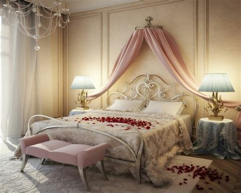 decoration maison romantique idee deco pour chambre romantique visuel 5