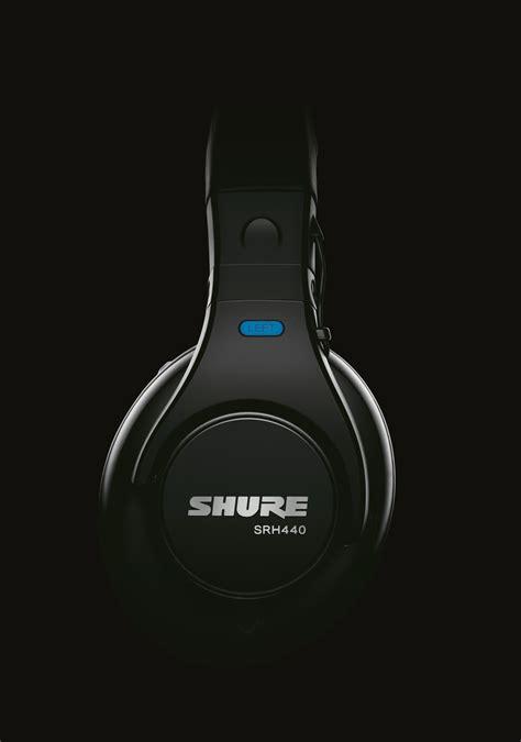 Shure Headphone Srh440 Black shure srh440 professional studio headphones black