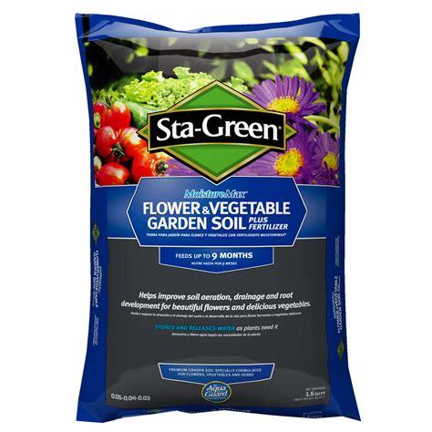 Sta Green Garden Soil by Shop Sta Green 1 5 Cu Ft Flower And Vegetable Garden Soil