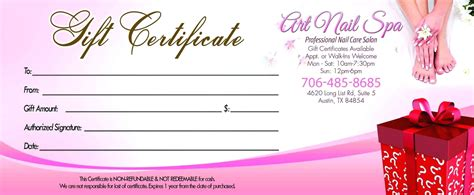 free printable gift certificate templates gift certificates make