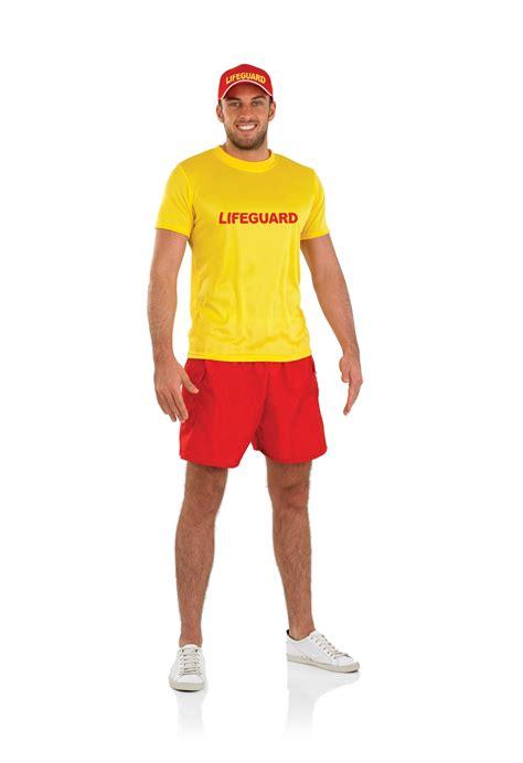 90s fancy dress costumes ebay mens male lifeguard costume for 90s bay fancy dress adults