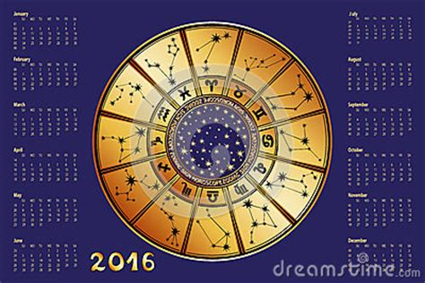 horoscope calendar 2016 calendar template 2016