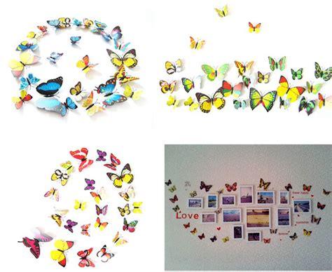 3d Untuk Stiker by Stiker Hias Dinding 3d Kupu Kupu Pasar Network Indonesia