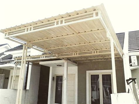 membuat rumah dari baja ringan 23 model kanopi terbaru baja ringan rumah minimalis 2018